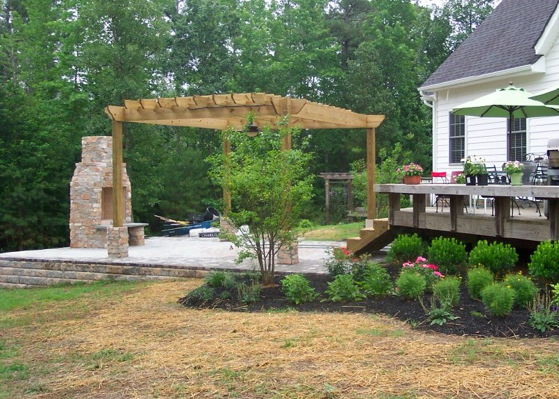 Landscaping Stone Fredericksburg Va : Va landscaper landscaping landscapes richmond fredericksburg
